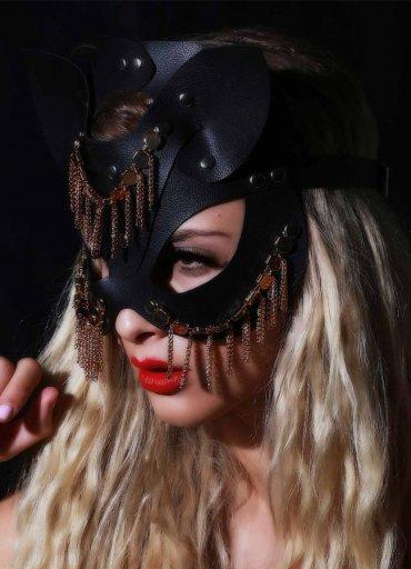 Fantazi Deri Maske Oriental - 0545 356 96 07