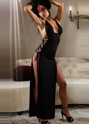 Uzun Fantazi Sexy Gece Elbisesi - 0545 356 96 07
