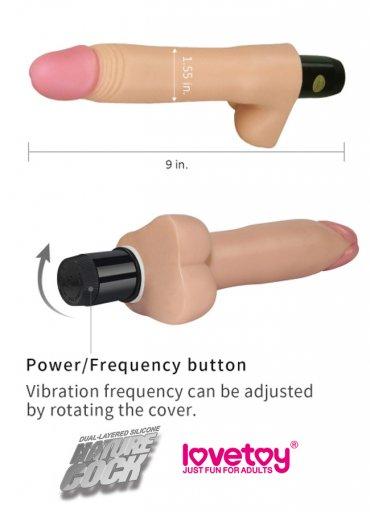 Su Geçirmez Hareketli Titreşimli Vibratör Penis