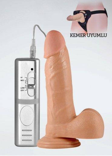 Süper Girthy Real Extreme Vibratör Penis - 0545 356 96 07