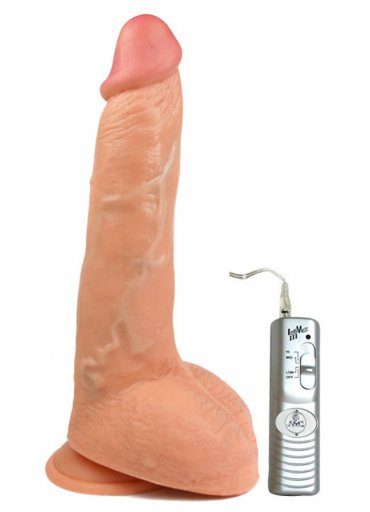 Mighty Muscle 23 Cm Realistik Kalın Penis Vibratör - 490 TL