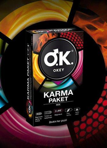 Okey Prezervatif Renk Renk 12'li - 0545 356 96 07