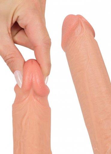 27 Cm Realistik Gerçekçi Damarlı Penis