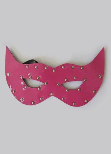 Fantazİ Pembe Deri Fantezi Maske