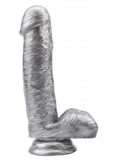 Heywood Jablome 17.8 Cm Gümüş Rengi Dildo - 0545 356 96 07