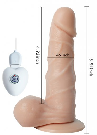 Titreşimli Oynarbaşlı Şarjlı Vibratör Penis - 0545 356 96 07