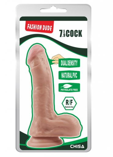 Fashion Dude 20.5cm Çift Katmanlı Dildo - 0545 356 96 07