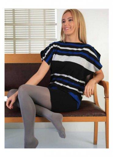 Termal Külotlu Çorap Gri - 0545 356 96 07