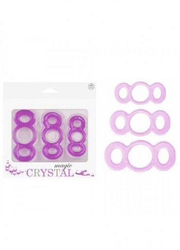 Magic Crystal Üçlü Fantezi Halkası
