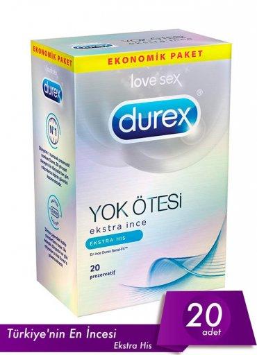 Durex Prezervatif Yok Ötesi Ekstra His - 150 TL