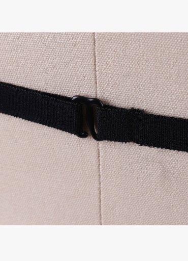 Siyah Harness 3 Şeritli Bralet Aksesuarı - 0545 356 96 07