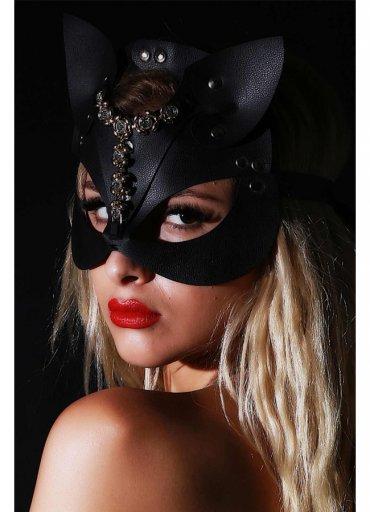 Fantazi Deri Maske Letuta