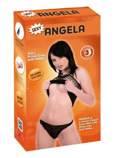 Angela Realistik Vajina ve Anüslü Şişme Bebek