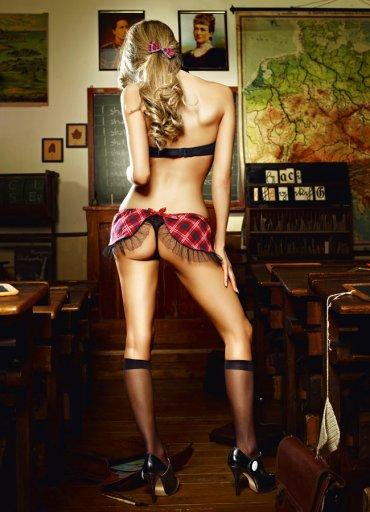 Sexy Kolej Kız Kostümü - 0545 356 96 07