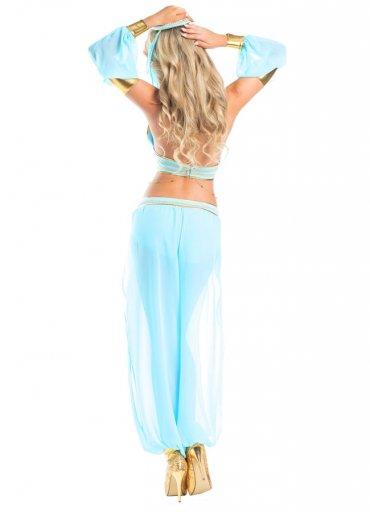 Mavi Seksi Dansöz Kostümü