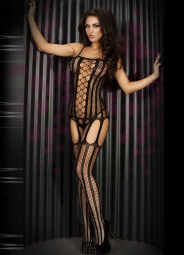 Seksi Tasarım Siyah Fantazi Çorap - 50 TL