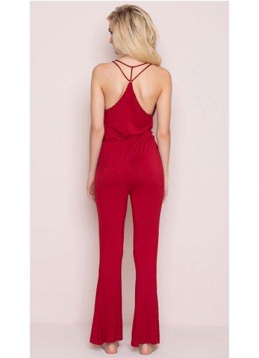 Kırmızı Pijama Takım - 0545 356 96 07