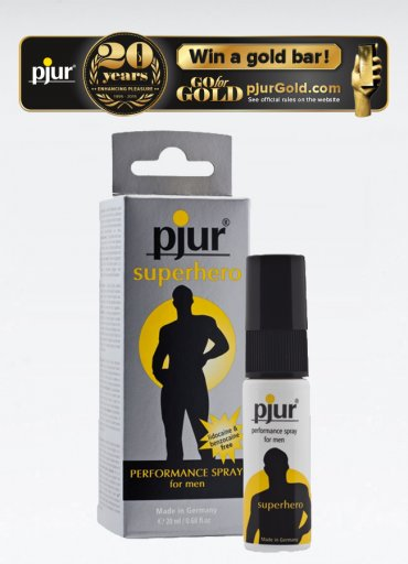 Pjur Superhero Spray - 150 TL