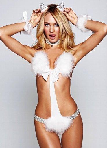 Seksi Kedi Kız Kostümü
