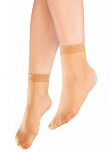 Süper İnce Mat 15 Denye Soket Çorap Ten - 0545 356 96 07