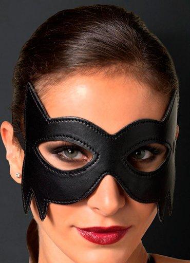 Batman Siyah Deri Göz Maskesi - 0545 356 96 07