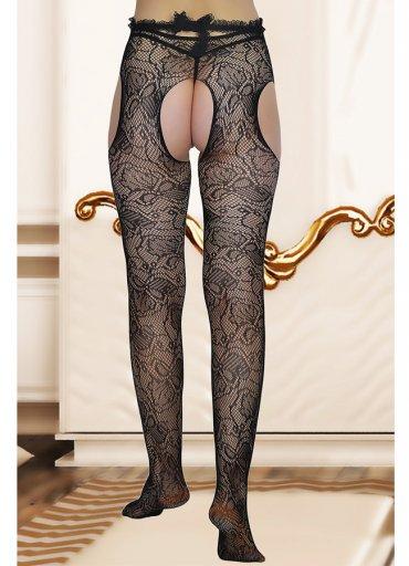 Dinamik Desen Külotlu Çorap