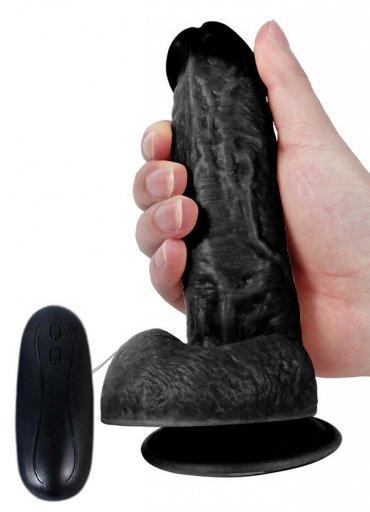 Et Dokusu Süper Realistik 17.5 Cm Vibratör
