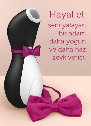 Satisfyer Pro Penguin Clitoral Oral Vibratör - 0545 356 96 07