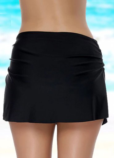 Angelsin Siyah Etekli Bikini Alt - 0545 356 96 07
