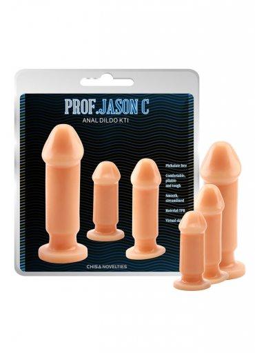3lü Anal Hazırlık Butt Plug Dildo Set