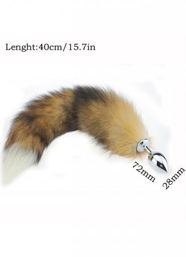 Uzun Tilki Kuyruklu Anal Tıkaç