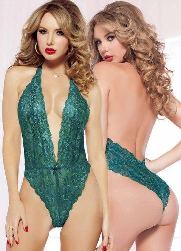 Yeşil Seksi Body İç Giyim - 0545 356 96 07