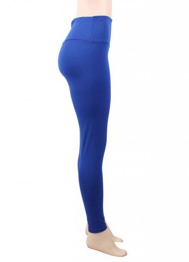 Kalça Tasarımlı Mavi Tayt - 65 TL