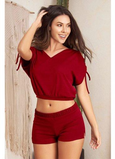 Pijama Takım Şortlu Büstiyer - 0545 356 96 07
