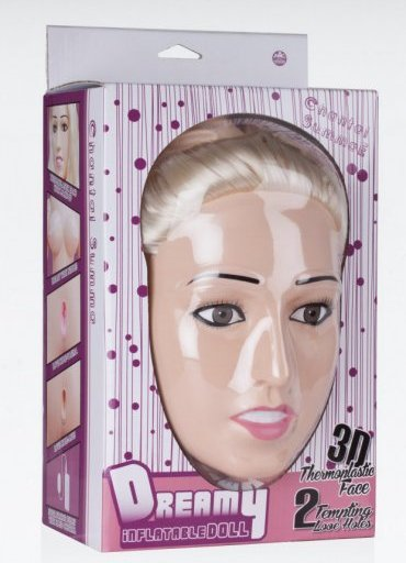 Dreamy 3D Şişme Bebek Chantal Summae - 700 TL