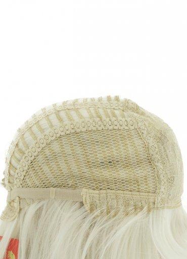Uzun Renkli Beyaz Peruk - 550 TL