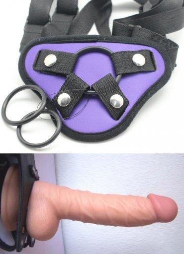 Belden Bağlamalı Realistik Titreşimsiz Penis