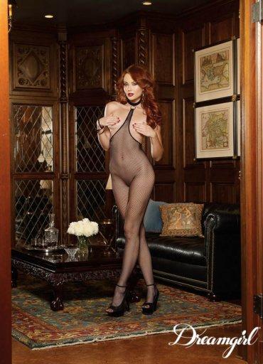 Göğüs Açık Seksi Vücut Çorabı - 0545 356 96 07