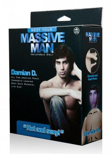 Massive Man Erkek Şişme Bebek Damian D - 0545 356 96 07