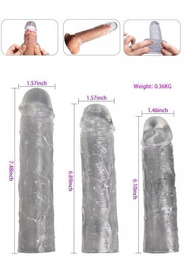 3 Lü Set Penis Kılıfı - 0545 356 96 07