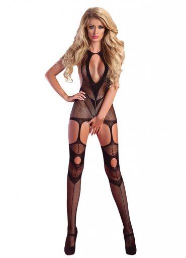 Jartiyerli Sexy Vücut Çorabı - 75 TL