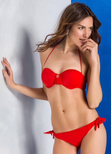 Seksi Kırmızı Renk Bikini Mara - 0545 356 96 07