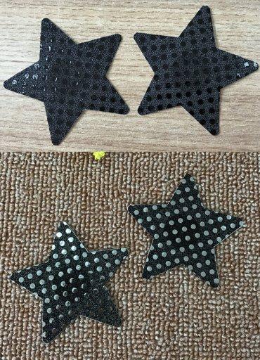 Yıldız Desenli Göğüs Ucu Kapatıcı - 0545 356 96 07