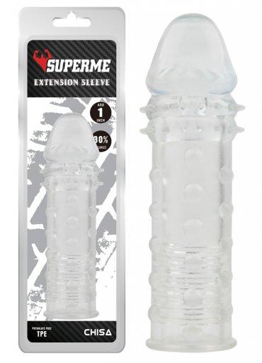 Extra Texture Sleeve Tırtıklı Penis Kılıfı