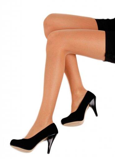 Külotlu Çorap Şeffaf Yarı Parlak Ten Rengi - 0545 356 96 07