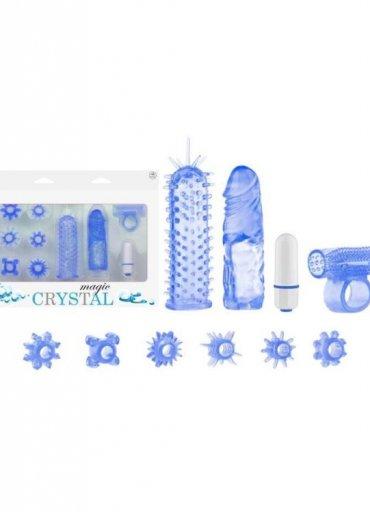Magic Crystal Orgazm Seti Mavi