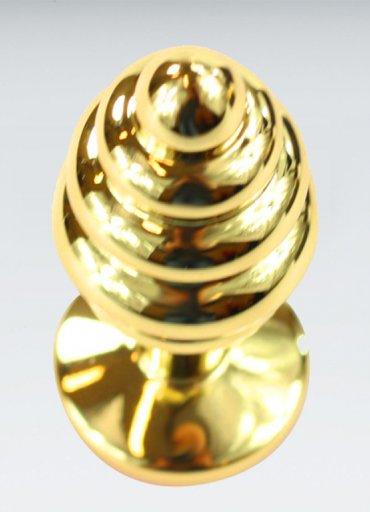 Kırmızı Küçük Boy Gold Anal Plug - 0545 356 96 07