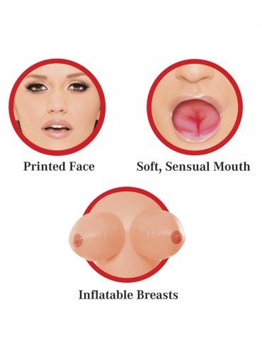 Oral Sex Özellikli 3 İşlevli Şişme Bebek - 0545 356 96 07