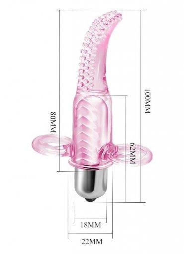 Parmak Vibratör Anal Vajinal