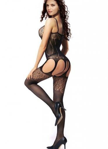 Nokta Shop Jartiyerli Vücut Çorabı - 0545 356 96 07